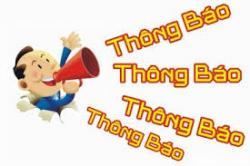 THÔNG BÁO ĐIỂM THI MÔN CHÍNH TRỊ T10/2019