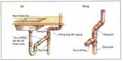 Những điều cần thiết để lắp đặt hệ thống cấp thoát nước.
