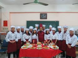 Kỳ thi tốt nghiệp tháng 12. 2017 ngành Đầu bếp