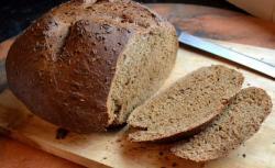 Thực hành làm bánh mì đen của lớp đầu bếp cao cấp ngày 29/11/2017
