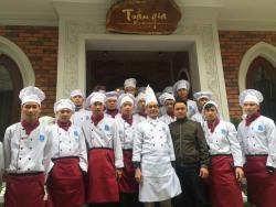 Buổi Kiến tập thực tế của Lớp nấu ăn sơ cấp 1 – Khoa Kỹ thuật chế biến món ăn