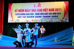 Lễ kỷ niệm ngày Nhà giáo Việt Nam 20.11.2016