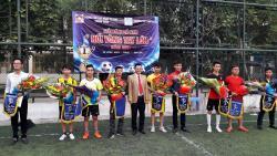 Giải đấu bóng đá trung cấp nghề Thanh Xuân 2016