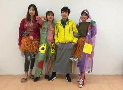 Thời trang tái chế - Dạy nghề Thanh Xuân