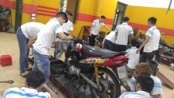 Cơ hội và thách thức trong nghề sửa chữa xe máy - Dạy nghề Thanh Xuân