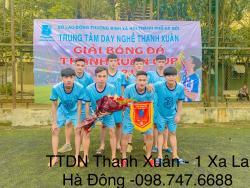 Lễ khai mạc và vòng đá loại khởi động giải bóng đá : THANH XUÂN CUP 2021