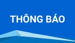 THÔNG BÁO PHÒNG DỊCH TỪ NGÀY 03/05/2021 ĐẾN NGÀY 16/05/2021