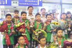 Việt Nam đoạt 7 HCV cuộc thi Thử thách nhà Toán học tương lai 2018